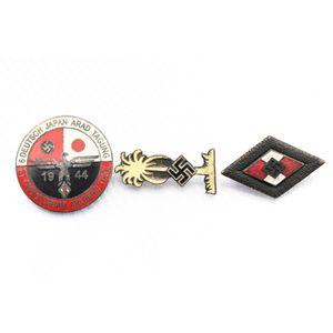 (3) WWII German Pins