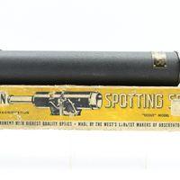 """1950's Saturn """"Scout"""" Spotting Scope In Original Box"""