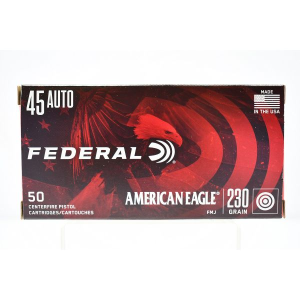 Federal American Eagle .45 ACP - 80 Boxes Available