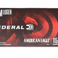 Federal American Eagle 9mm Luger - 60 Boxes Available