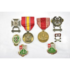 (8) Service Medals