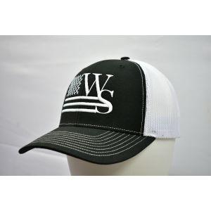 Branded Black Snapback Cap