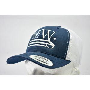 Branded Blue Snapback Cap