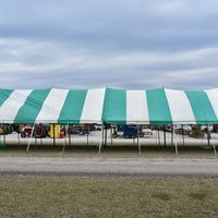30' X 90' Pole Tent With Sides - (309) 337-6607