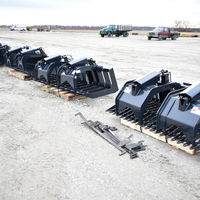 New Grapples, Pallet Forks, Post Pullers & Other Skid Steer Attachments, Smith Equipment