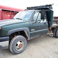 2003 Chevy dump truck - Wilcox Township - (217) 242-4410