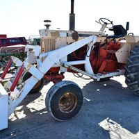 Case 930 with loader - (309) 221-9009