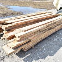 Rough Cut Oak Lumber
