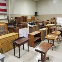 Over 75 pieces of furniture